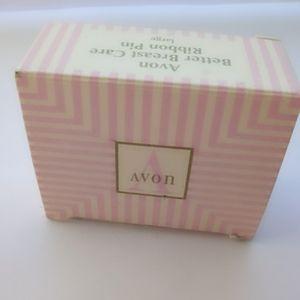 (N.I.B) Vintage Avon Better Breast Care Ribbon Pin